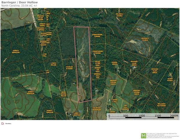 23+/- Acres Deer Hollow Drive, Gold Hill, NC 28071 (#3788196) :: Caulder Realty and Land Co.