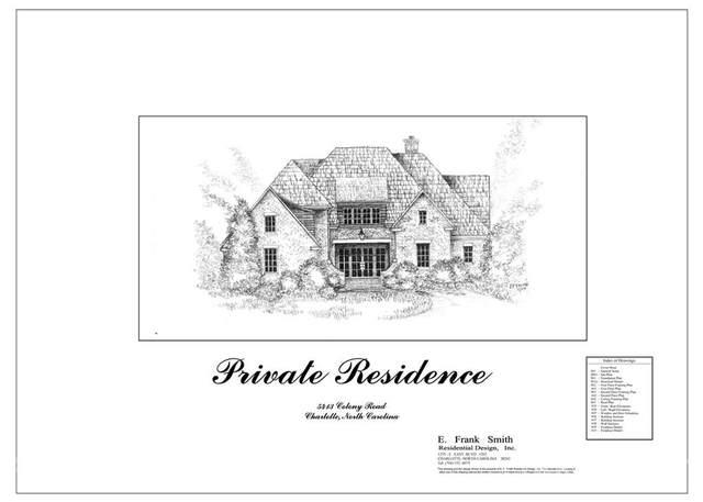 5413 Colony Road, Charlotte, NC 28226 (#3789577) :: Homes Charlotte