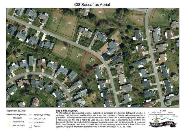 438 Sassafras Drive #40, Hendersonville, NC 28739 (#3791239) :: Briggs American Homes