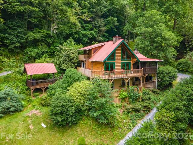 116 Cracker Trail, Clyde, NC 28721 (#3537337) :: LePage Johnson Realty Group, LLC