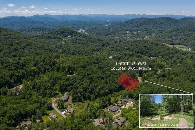 78 Woodland Aster Way #69, Asheville, NC 28804 (#3566774) :: Caulder Realty and Land Co.