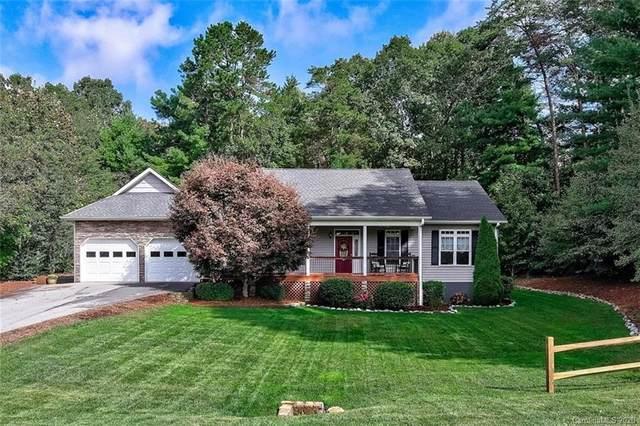 74 W Sunset Ridge Drive, Etowah, NC 28729 (#3591057) :: Homes Charlotte