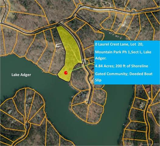 0 Laurel Crest Lane Lot 20, Mill Spring, NC 28756 (#3599678) :: MartinGroup Properties