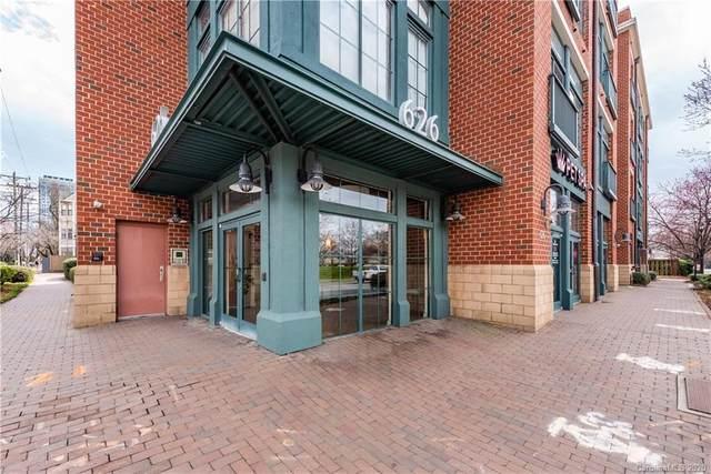 626 N Graham Street #413, Charlotte, NC 28202 (#3601657) :: LePage Johnson Realty Group, LLC
