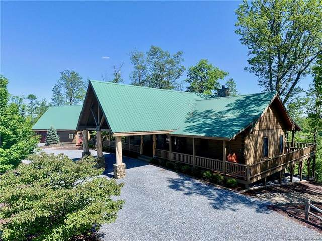 1709 Grandview Peaks Drive, Nebo, NC 28761 (#3602351) :: Keller Williams Professionals