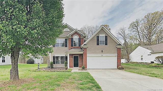 141 Jacobs Woods Circle, Troutman, NC 28166 (#3605459) :: LePage Johnson Realty Group, LLC