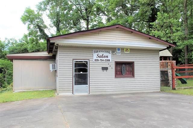 503 Finley Avenue NW, Lenoir, NC 28645 (#3635049) :: Homes Charlotte