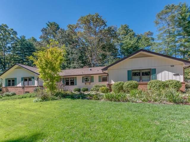 143 N Fair Oaks Drive, Hendersonville, NC 28791 (#3669697) :: The Mitchell Team