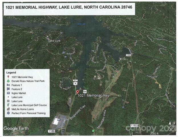 1021 Memorial Hwy Highway, Lake Lure, NC 28746 (#3686098) :: Stephen Cooley Real Estate Group