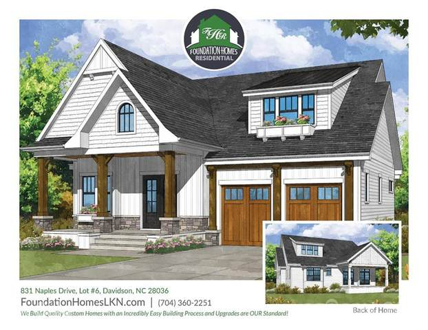 831 Naples Drive #6, Davidson, NC 28036 (#3688515) :: High Performance Real Estate Advisors