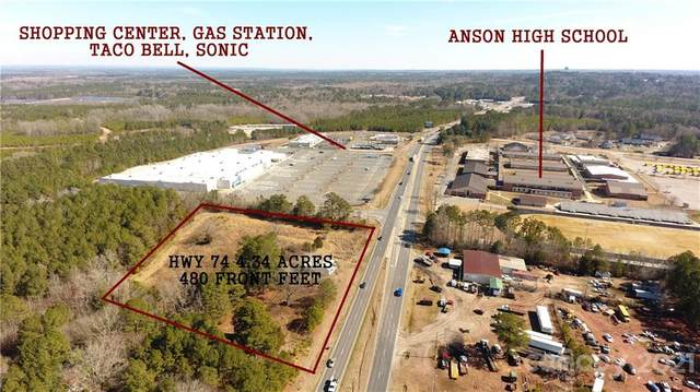 2068 Us Hwy 74 Highway W, Wadesboro, NC 28170 (#3701475) :: BluAxis Realty