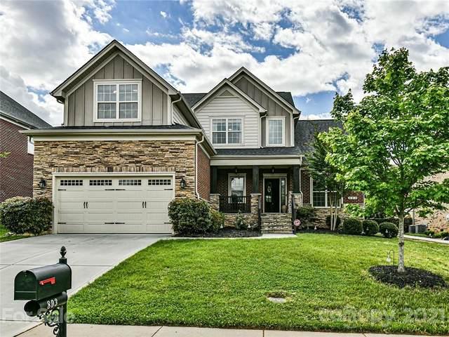 803 Five Leaf Lane, Waxhaw, NC 28173 (#3736981) :: Besecker Homes Team