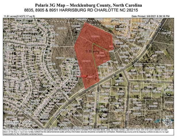 8835, 8905 & 8951 Harrisburg Road, Charlotte, NC 28215 (#3737845) :: Willow Oak, REALTORS®