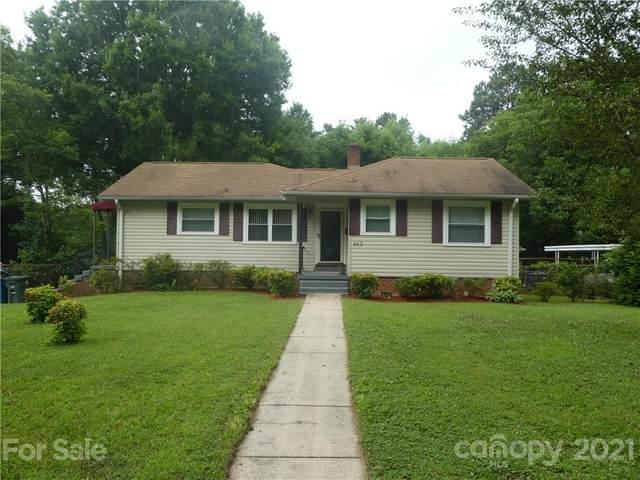 943 Fairmont Avenue, Salisbury, NC 28144 (#3756135) :: Keller Williams Realty Lake Norman Cornelius