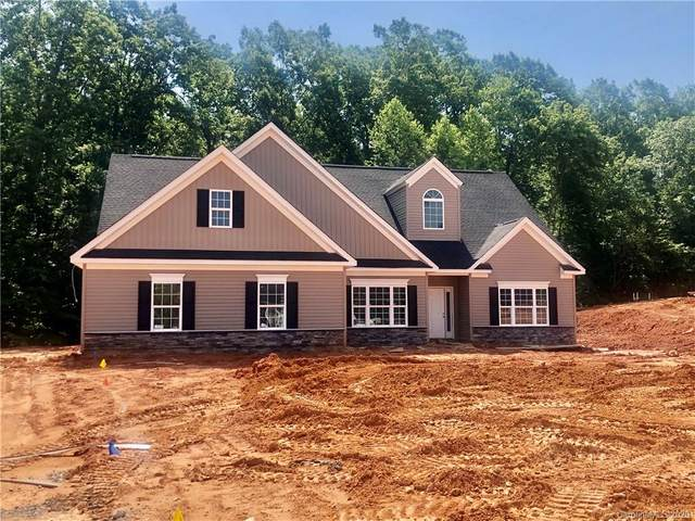 126 Holly Springs Loop #34, Troutman, NC 28166 (#3610180) :: Rinehart Realty