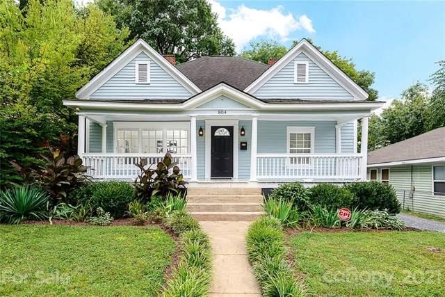804 E 18th Street, Charlotte, NC 28205 (#3769132) :: Besecker Homes Team