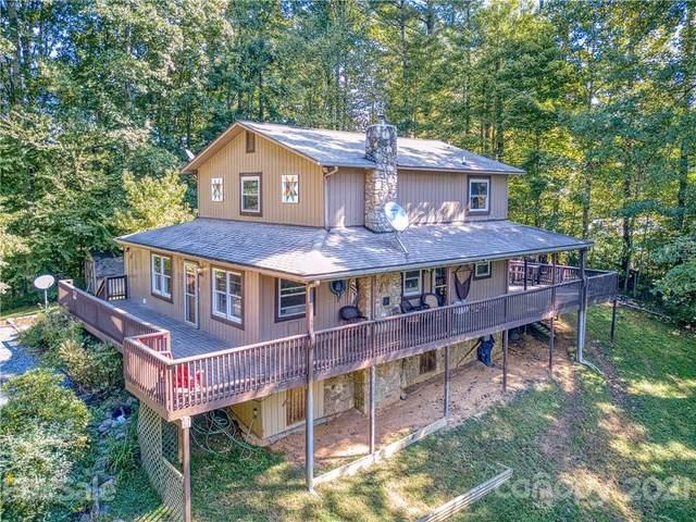 885 Rustic Heights Road, Waynesville, NC 28785 (#3790711) :: Ann Rudd Group