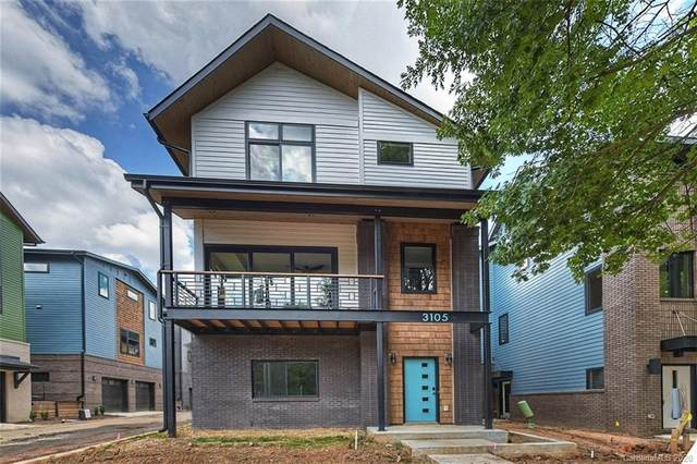 3105 Whiting Avenue #5, Charlotte, NC 28205 (#3504503) :: MartinGroup Properties