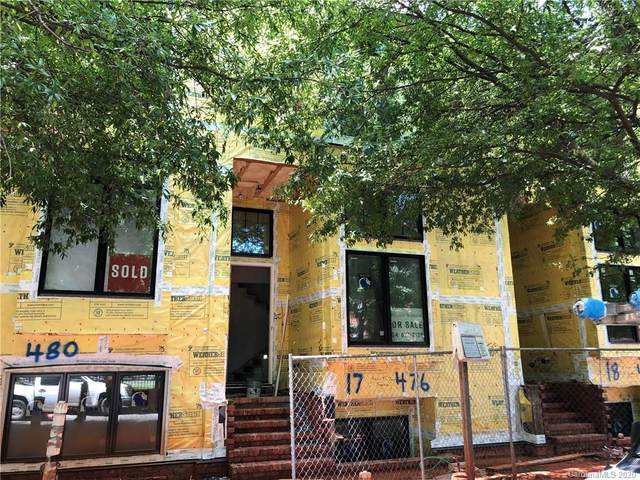 476 E 33rd Street Unit 17, Charlotte, NC 28205 (#3546501) :: The Downey Properties Team at NextHome Paramount