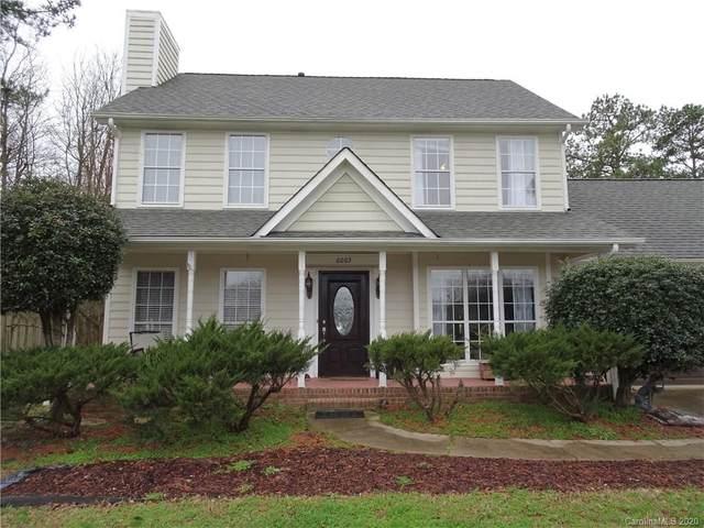 6003 Colchester Lane, Matthews, NC 28104 (#3594098) :: Carlyle Properties