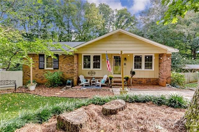 4151 Somerdale Lane, Charlotte, NC 28205 (#3778228) :: Briggs American Homes