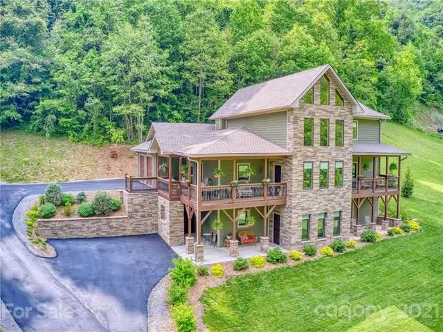 350 Inverness Drive, Waynesville, NC 28786 (#3660973) :: Exit Realty Vistas