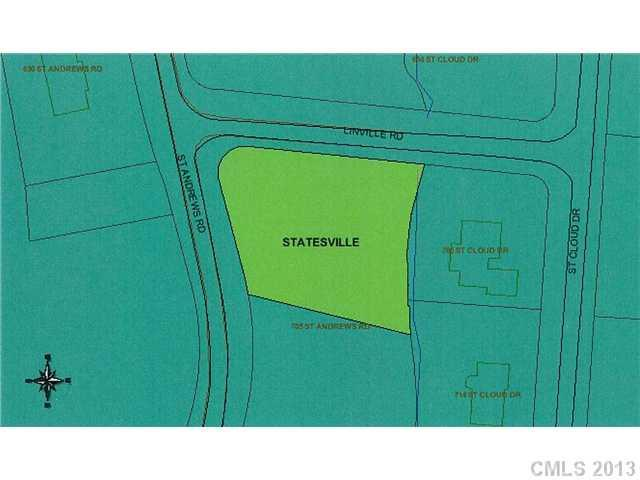 Lot430 Saint Andrews Road Lot #430, Statesville, NC 28677 (#2131322) :: Carver Pressley, REALTORS®
