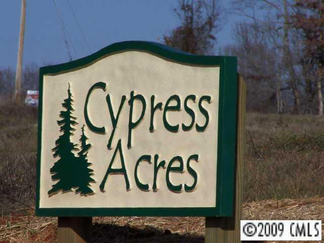 LOT 7 Cypress Acres Drive, Statesville, NC 28625 (#834444) :: Zanthia Hastings Team