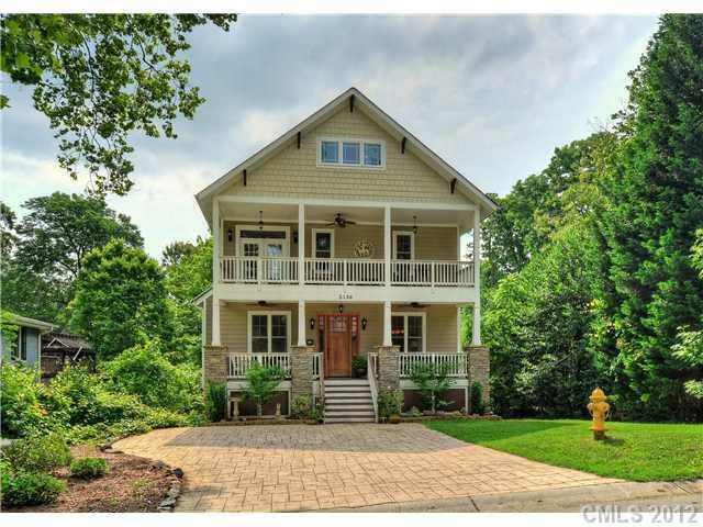 2136 Chatham Avenue, Charlotte, NC 28205 (#2085828) :: High Performance Real Estate Advisors