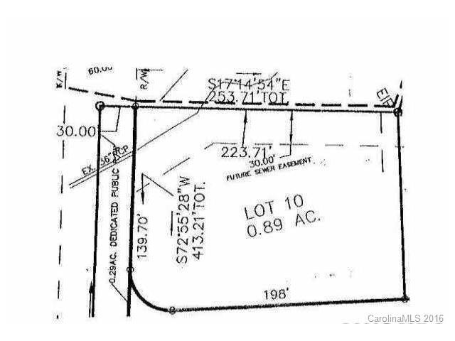 Lot 10 Julian Place, Troutman, NC 28166 (#3199348) :: Exit Mountain Realty
