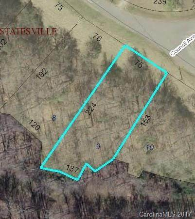 Lot 9 Beauty Street Lot 9, Statesville, NC 28625 (#3288211) :: MartinGroup Properties