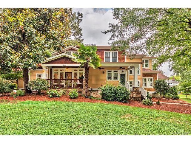 619 Magnolia Avenue, Charlotte, NC 28203 (#3307615) :: High Performance Real Estate Advisors