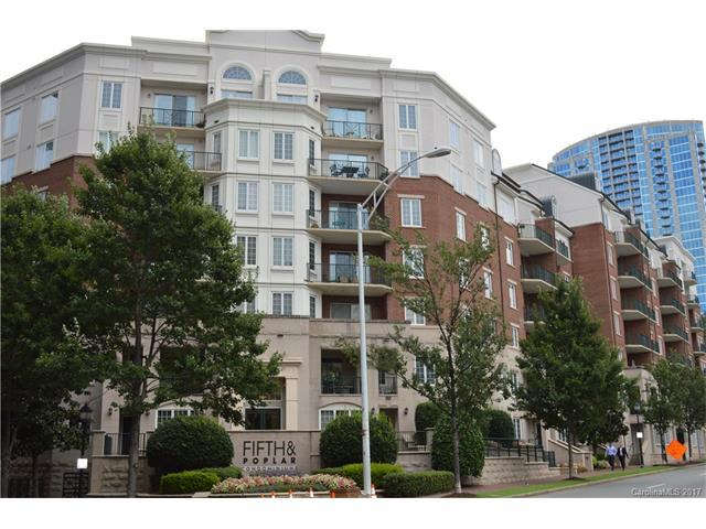 300 W 5th Street #109, Charlotte, NC 28202 (#3308209) :: Century 21 First Choice