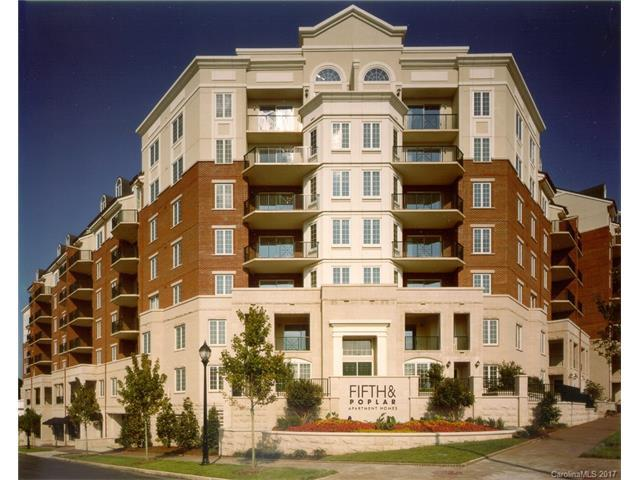 300 W 5th Street #3, Charlotte, NC 28202 (#3309583) :: The Ramsey Group
