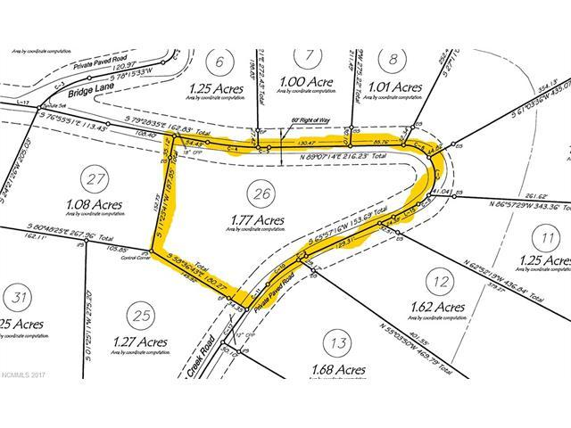 Lot 26 E Rambling Creek Road #26, Tryon, NC 28782 (#3310620) :: Puffer Properties