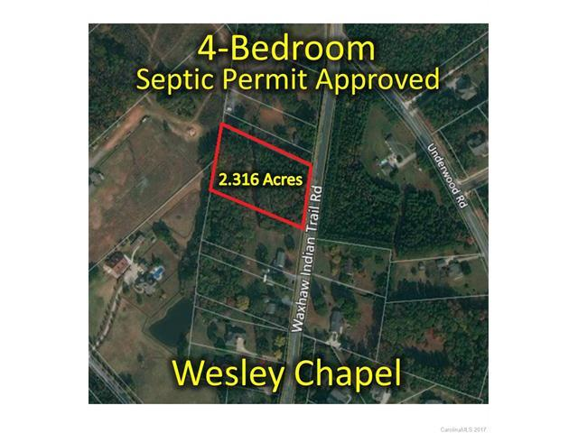 0 Waxhaw Indian Trail Road, Wesley Chapel, NC 28104 (#3312817) :: LePage Johnson Realty Group, Inc.