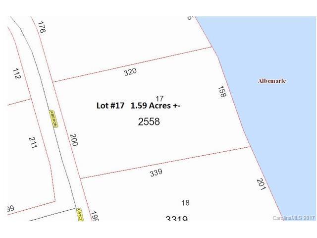 Lot 17 Ameron Circle, Albemarle, NC 28001 (#3317383) :: Exit Mountain Realty