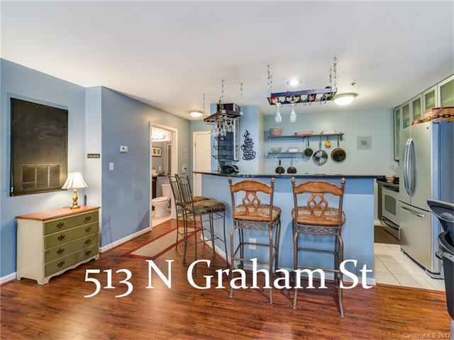 513 N Graham Street 1A, Charlotte, NC 28202 (#3333952) :: The Temple Team