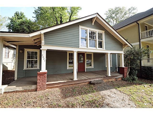 2021 E 9th Street, Charlotte, NC 28204 (#3334859) :: Miller Realty Group