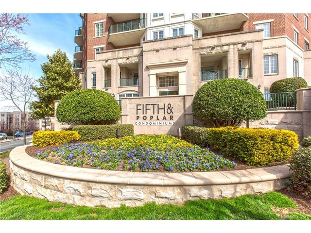 300 5th Street #629, Charlotte, NC 28202 (#3339477) :: The Beth Smith Shuey Team