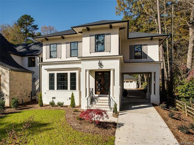 411 Wonderwood Drive, Charlotte, NC 28211 (#3339736) :: The Temple Team