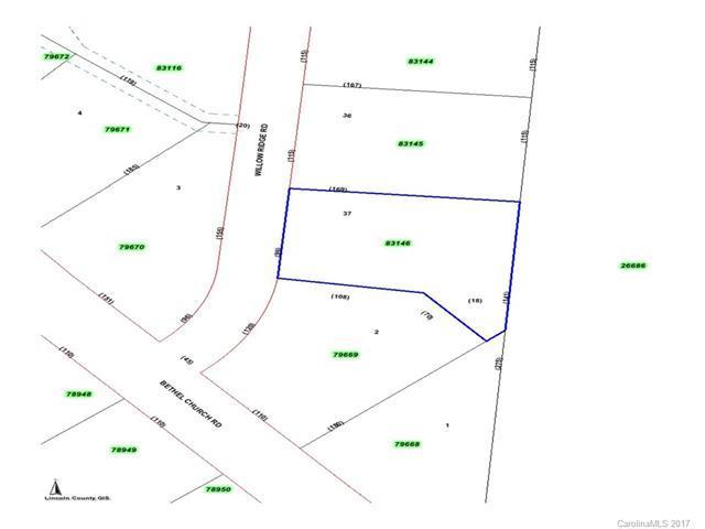 #37 Willow Ridge Road #37, Lincolnton, NC 28092 (#3339829) :: David Hoffman Group