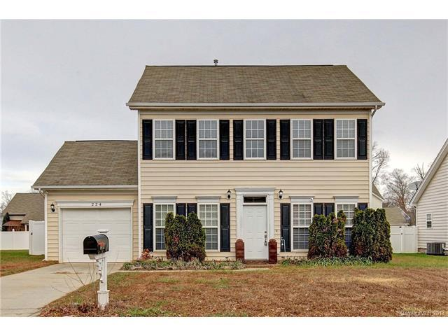 224 Everett Park Drive, Mooresville, NC 28115 (#3341812) :: LePage Johnson Realty Group, Inc.