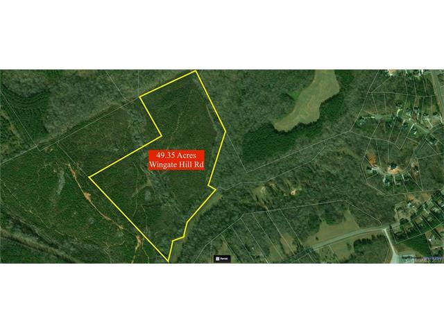 Approx. 49.35 Acres Wingate Hill Road, Denver, NC 28037 (#3345685) :: Cloninger Properties