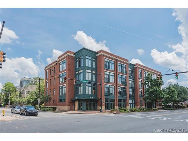 626 N Graham Street #203, Charlotte, NC 28202 (#3351653) :: Scarlett Real Estate
