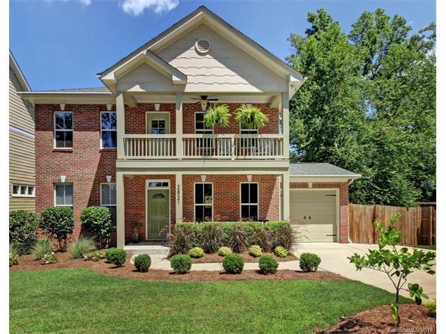 2821 Fort Street, Charlotte, NC 28205 (#3352792) :: Homes Charlotte