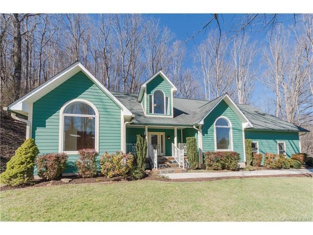 535 Knollwood Drive, Waynesville, NC 28786 (#3360192) :: Mossy Oak Properties Land and Luxury