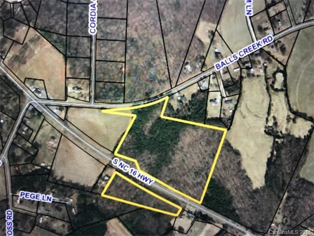20.89 Acres Nc 16 Highway, Newton, NC 28658 (#3362747) :: The Ramsey Group
