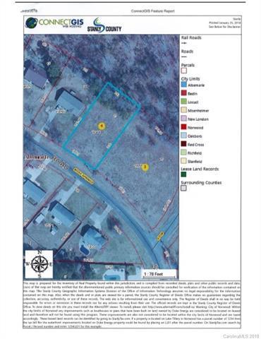 VAC Moss Springs Road #15, Albemarle, NC 28001 (#3364630) :: MECA Realty, LLC
