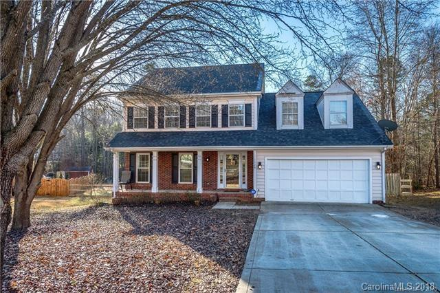 1328 Forest Wood Drive, Matthews, NC 28105 (#3367524) :: The Sarver Group